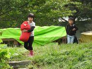 テント撤収②