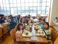 美方高原での夕食