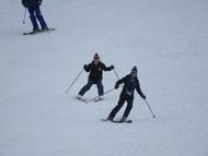 2日目:親子でスキー