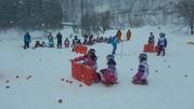 雪上での試合