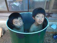 ドラム缶風呂④