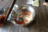 野菜を切って、準備OK