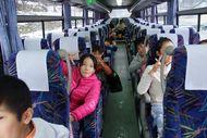 バス到着!