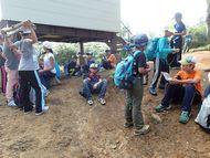 8:26 氷ノ山避難小屋到着