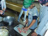 野外炊事~調理班