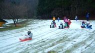 雪と言えば滑る!!