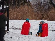 雪合戦の攻防