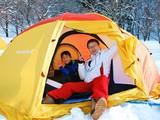 雪中キャンプ(テント泊)