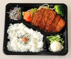 とちのき弁当(梅タレチキンかつ)600円
