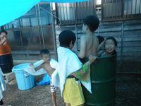 ドラム缶風呂①