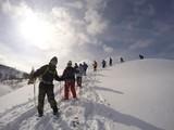 スノーシュー半日登山ツアー