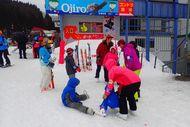 スキーレッスン開始