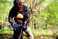 登り方の練習