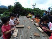 竹食器作り