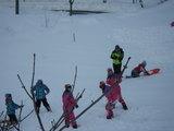 楽しい楽しい雪遊び