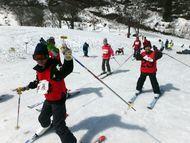 最後はスキーをおもいっきり楽しむ!!