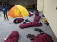 雪中テント泊に向けて