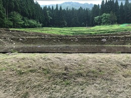 田植え前の体験農園の様子②
