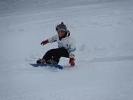 2日目:滑れるようになったよ。