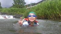 川遊びスタート!
