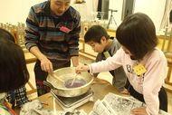 キャンドル作り