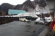 バスが到着~