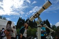 望遠鏡のワークショップ
