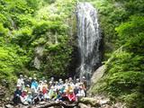 沢登り⑦滝に到着