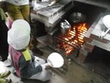 野外炊事④火おこし
