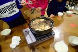 鹿肉のすき焼き