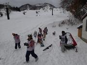 雪あそびタイム