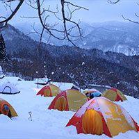 冬季テント泊