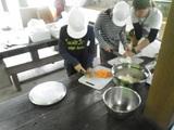野外炊事④野菜切り