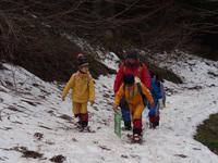 登山練習(雪上)
