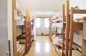 宿泊室の様子